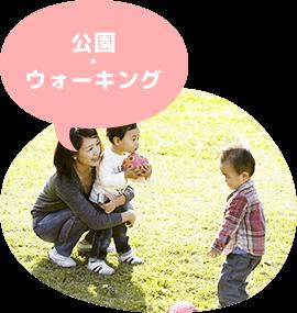 児童デイサービスきしゃぽっぽ 公園・ウォーキング