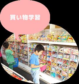 児童デイサービスきしゃぽっぽ 買い物学習