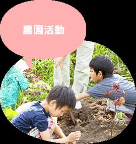 児童デイサービスきしゃぽっぽ 農園活動